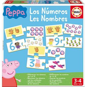 Educa J'apprends les Nombres Peppa Pig