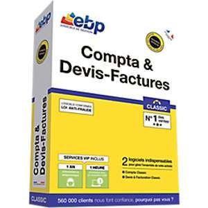 Compta et Devis-Factures Classic 2018 + Services VIP [Windows]
