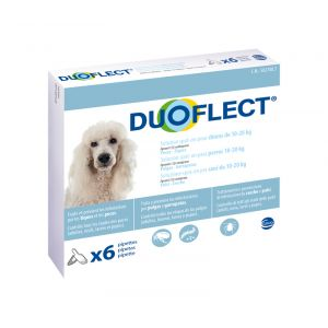 Ceva Duoflect chiens 10-20 kg 6 pipettes