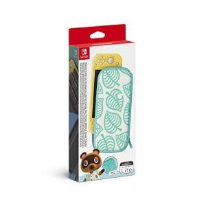 Nintendo Pochette de Transport - Edition Animal Crossing New Horizons/Protection d'Ecran pour Switch Lite