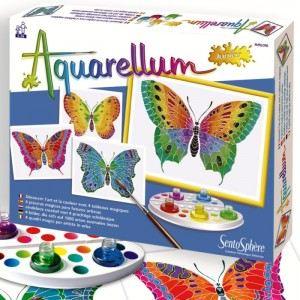 Sentosphère Aquarellum junior : les papillons