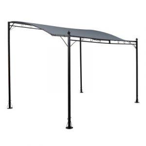 Blumfeldt Allure Pergola Auvent 300x250cm Polyester 180 g/m² imperméable – gris