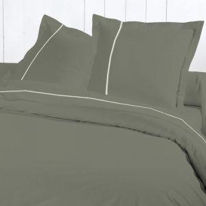 David Olivier Percale - Housse de couette 100% coton 80 fils (240 x 260 cm)