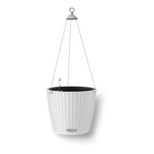 Lechuza Pot Avec Set D'Arrosage Et Crochet Blanc