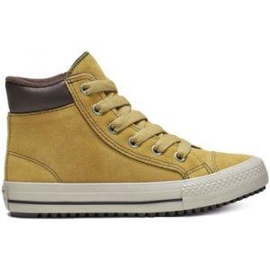 Converse Chaussures casual Chuck Taylor All Star montantes à lacets en croûte de cuir 2V PC Boots on Mars Jaune - Taille 34