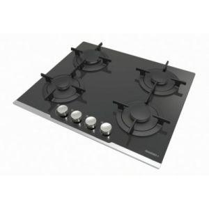 Rosières RGV64TFB PN - Table de cuisson gaz 4 foyers