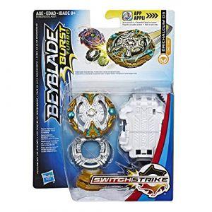 Hasbro Toupie Beyblade Burst Evolution - Toupie + Lanceur SwitchStrike - Orichalcum O3