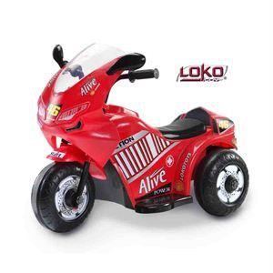 Loko Toys Moto de course électrique