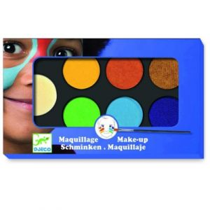 Djeco Palette de maquillage 6 couleurs Nature