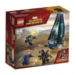 Lego Marvel Super Heroes 76101 - L'attaque du vaisseau par les Outriders