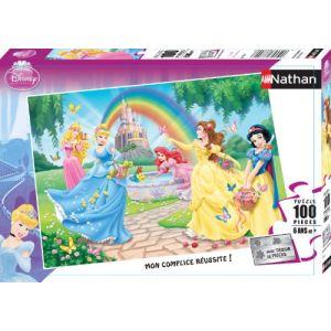 Nathan Puzzle XXL Princesses Disney: Le jardin des princesses 100 pièces
