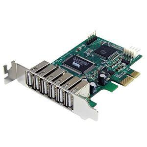 StarTech.com PEXUSB7LP - Carte Adaptateur PCI Express vers 7 Ports USB 2.0