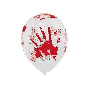 Amscan 6 ballons gonflables Halloween Mains Ensanglantées