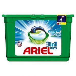 Ariel Alpine Lessive en Capsules 16Lavages