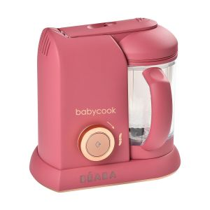 Beaba Baby Cook Solo Litchee 912793 - Mixeur cuiseur