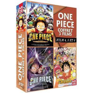 Coffret One Piece - Les films 4, 5 et 6
