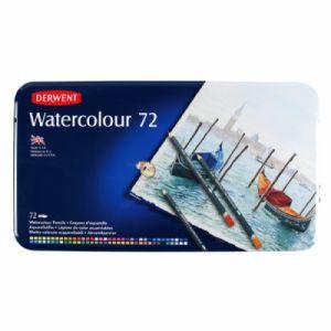 Derwent Crayons aquarellables Boite métal de 72 (Import Royaume Uni)