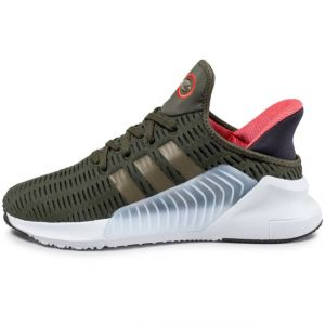 Adidas Climacool 02/17, Chaussures de Running Homme, Multicolore (Night Cargo F15/Trace Olive F17/Ftwr White), 45 1/3 EU