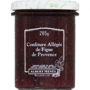 Albert ménès Confiture allégée de Figue de Provence - Le pot de 265g