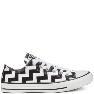 Converse Chuck Taylor All Star Glam Dunk Ox - Baskets Femme, Blanc