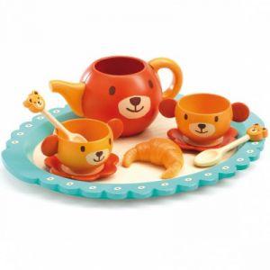 "Djeco DJ06628 - Dinette ""Le goûter de Teddy"""