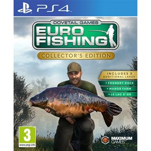 Euro Fishing Simulator sur PS4