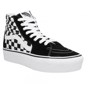 Vans Sk8 Hi Platform Chaussures Checkerboard