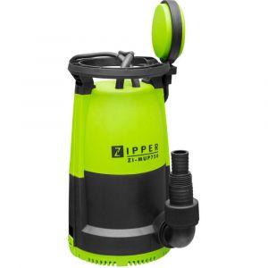 Zipper Pompe vide-cave 2 en 1 eaux claires et eaux chargées 750 W 230 V + flotteur - ZI-MUP750