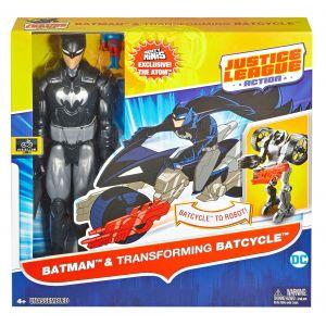Mattel Justice League - Assortiment Figurine et Véhicule 30 cm