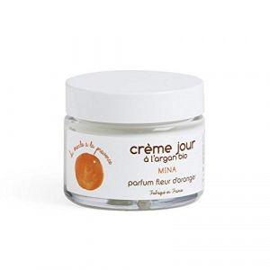 Du Monde à la Provence Crème jour à l'argan bio parfum fleur d'oranger