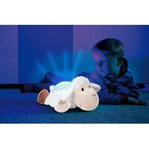 Bayer Design Nuit lumineuse animal Mouton blanc