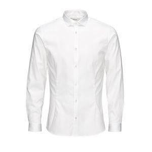 Jack & Jones Premium - Chemise super slim élégante et stretch - Blanc