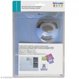 Artémio Kit de création enveloppe et carte avec perforatrice - 3 pcs