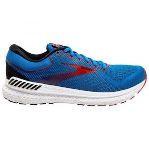 Brooks Chaussures running Transcend 7 - Mazarine / Black / Red - Taille EU 43