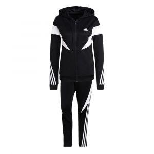 Adidas Survêtement Colorblock ts Noir - Taille S