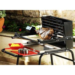 Somagic 436248 - Kit tournebroche pour barbecue vertical Raymond