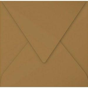Pollen 29003C - Enveloppe 165x165, 135 g/m², Kraft naturel, en paquet cellophané de 20