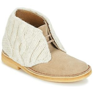 Clarks Desert Boot Women sand combi