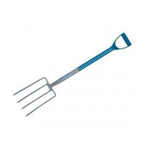 Silverline 819722 - Fourche à bêcher de jardin 1000mm