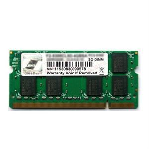 G.Skill F2-6400CL5S-2GBSQ - Barrette mémoire Standard 2 Go DDR2 800 MHz 200 broches