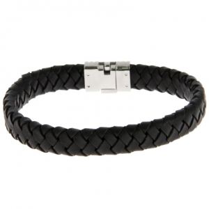 Lotus LS1518-2/2 - Bracelet en acier et cuir pour homme