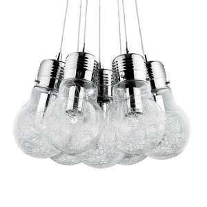 Ideal lux Suspension 7 lampes design Luce Max 081779
