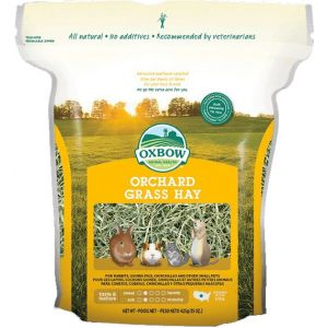 Oxbow Foin Orchard Grass Petits Mammifères Adulte, 1,125 kg