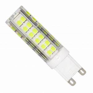 Silamp Ampoule LED G9 SMD2835 7W 220V 75LED 360 - couleur eclairage : Blanc Neutre 4000K - 5500K