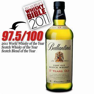 Ballantine's 17 ans - Scotch Whisky Blend d'Ecosse (70 cl)