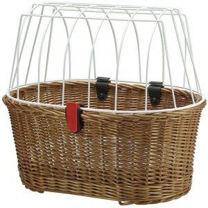 Klickfix Doggy Basket - Panier de vélo - Korbklip marron Paniers pour porte-bagages