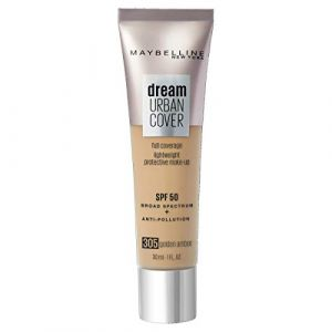 Maybelline Gemey Dream Urban Cover Foundation 305 Golden Amber (30ml)
