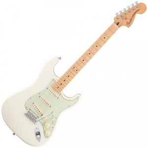 Fender Stratocaster Mexican MN Deluxe Roadhouse olympic white
