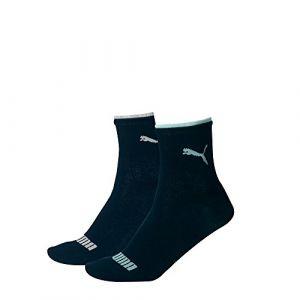Puma Chaussettes et collants -underwear Lifestyle Short Sock 2 Pack - Navy - EU 35-38