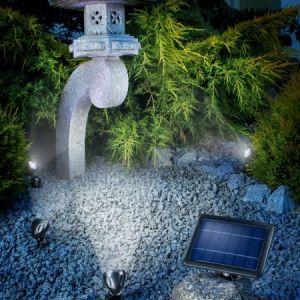 Sunny Trend Quattro Power - Spots solaires de jardin